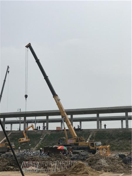 常熟高架吊装施工