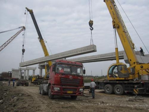 常熟高架桥施工吊装