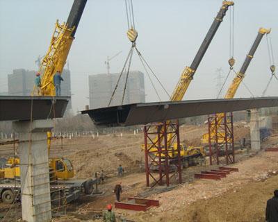 常熟高架桥施工